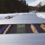 折板屋根工事